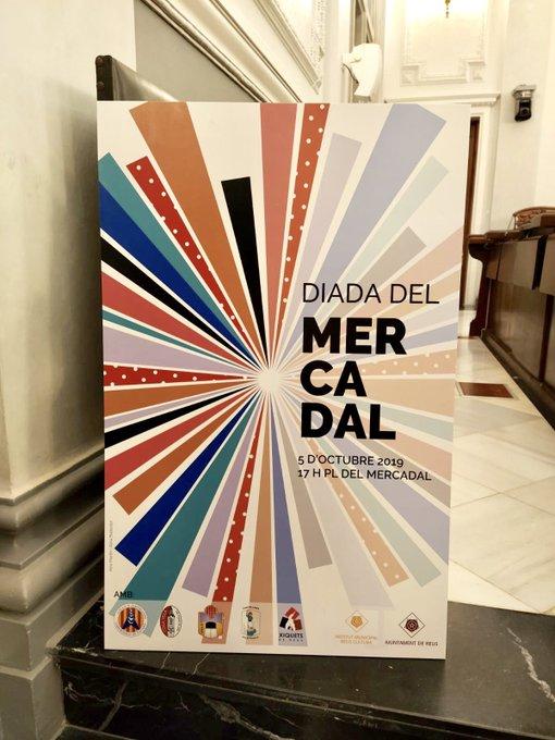 Cartell Diada Mercadal 2019