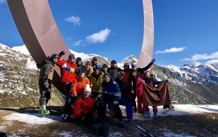 Esquiada Xiquets de Reus