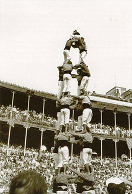 Primer 4d8 Concurs de Castells 1988