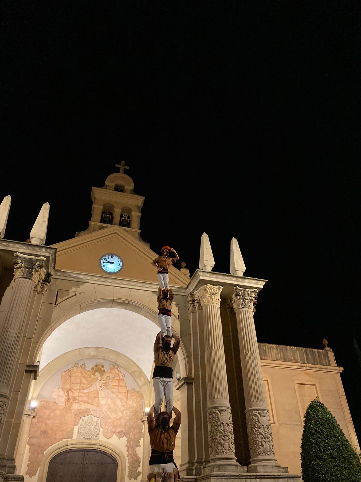 Pilar de 5 represa castellera