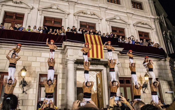 Pilars finals Diada Castellera del Mercadal 2019