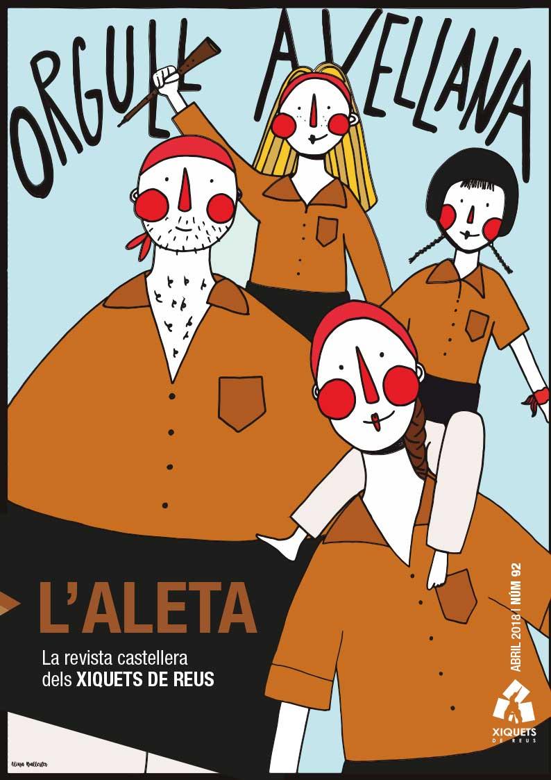 L'Aleta, la revista castellera dels Xiquets de Reus 2