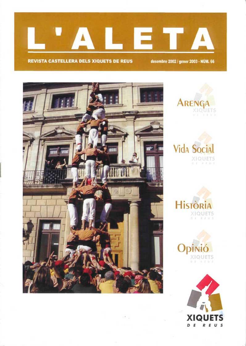 L'Aleta, la revista castellera dels Xiquets de Reus 7