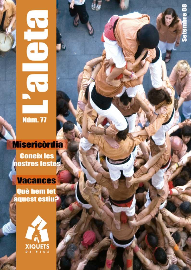 L'Aleta, la revista castellera dels Xiquets de Reus 5