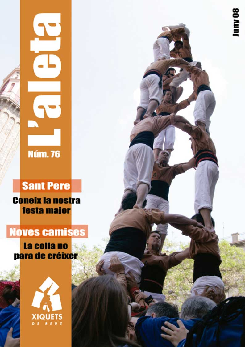 L'Aleta, la revista castellera dels Xiquets de Reus 6