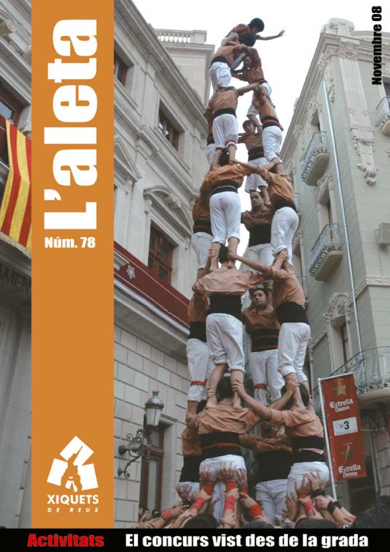 L'Aleta, la revista castellera dels Xiquets de Reus 4