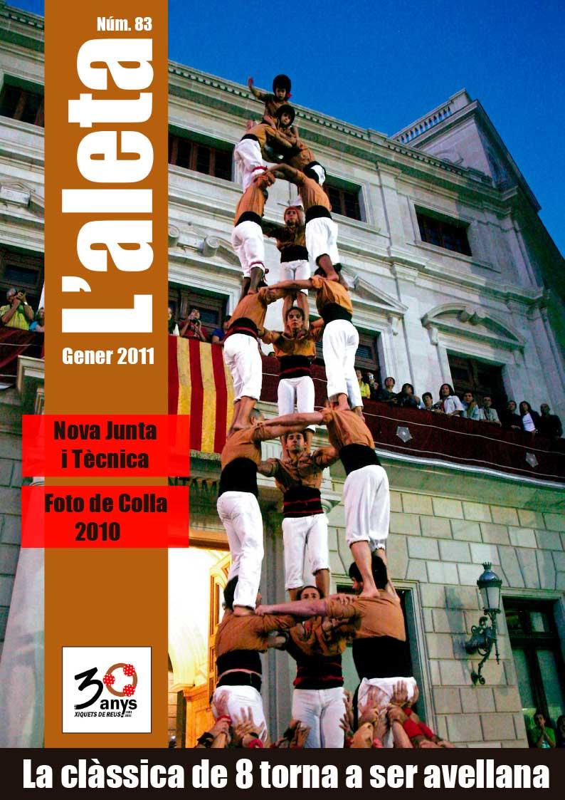 L'Aleta, la revista castellera dels Xiquets de Reus 3